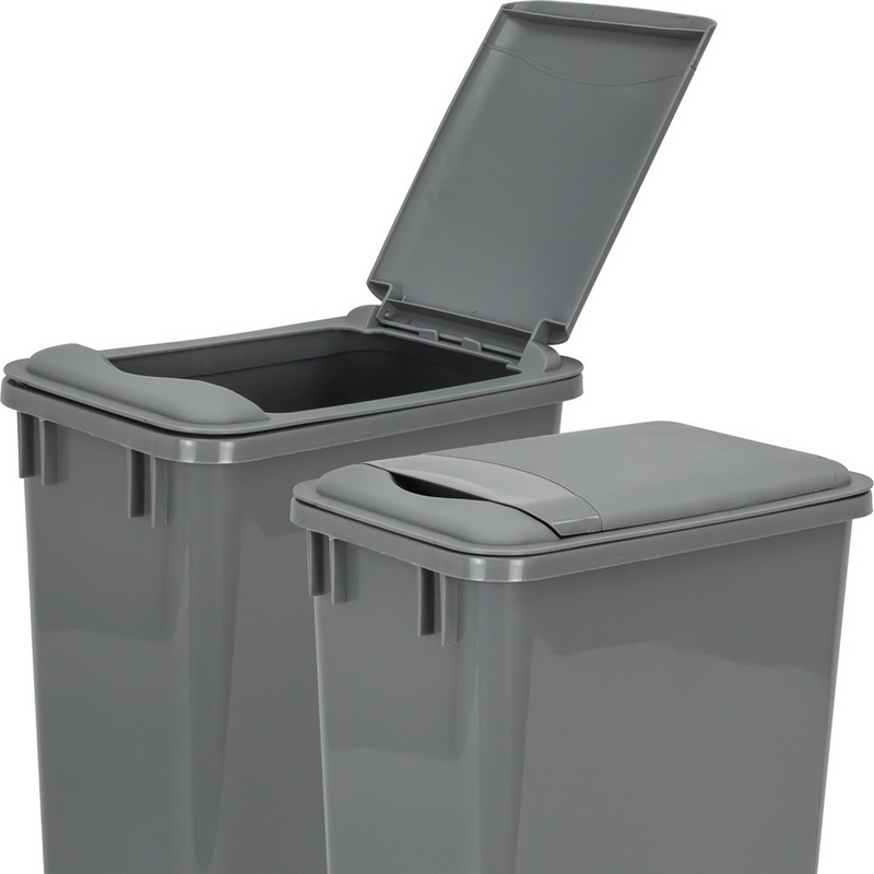 hardware resources lid for 35 quart plastic waste container gray can 35lidgry trash cans. Black Bedroom Furniture Sets. Home Design Ideas