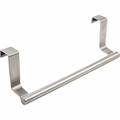 Hardware Resources - Over-the-Door Towel Bar Allows for Versatility in Hanging Options. - Stainless Steel - OTDTHSS-R