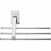 Hardware Resources - Screw Mounted Tie/Scarf Rack. - Polished Chrome - 356T-PC