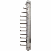 Hardware Resources - Screw Mounted Tie/Scarf Rack. - Satin Nickel - 357T-SN