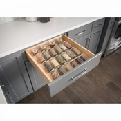 Hardware Resources - Spice Tray Organizer for Drawers - Birch - SPO24