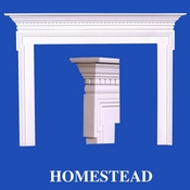 Homestead Mantel - Stain Grade - Red Oak - 36