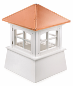 Good Directions - Huntington Style - Louvered Cupola - 2122HV