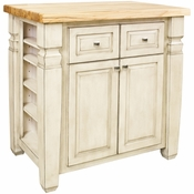 Jeffrey Alexander - Kitchen Island - French White - ISL12-FWH