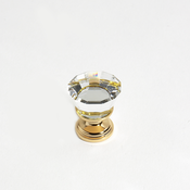 JVJ Hardware - Cabinet Knob - Gold Plated - 34324
