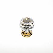 JVJ Hardware - Cabinet Knob - Gold Plated - 35224