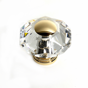 JVJ Hardware - Cabinet Knob - Gold Plated - 37524