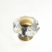 JVJ Hardware - Cabinet Knob - Gold Plated - 38224
