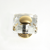 JVJ Hardware - Cabinet Knob - Gold Plated - 38724