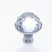 JVJ Hardware - Cabinet Knob - Polished Chrome - 52626