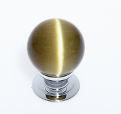 JVJ Hardware - Cabinet Knob - Polished Chrome - 54426