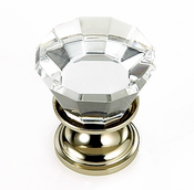 JVJ Hardware - Cabinet Knob - Polished Nickel - 34314