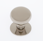 JVJ Hardware - Cabinet Knob - Polished Nickel - 34416