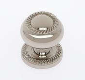 JVJ Hardware - Cabinet Knob - Polished Nickel - 34516