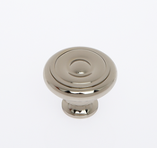 JVJ Hardware - Cabinet Knob - Polished Nickel - 35016