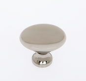 JVJ Hardware - Cabinet Knob - Polished Nickel - 35316