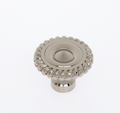 JVJ Hardware - Cabinet Knob - Polished Nickel - 36616