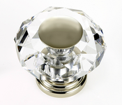 JVJ Hardware - Cabinet Knob - Polished Nickel - 38214