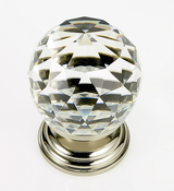 JVJ Hardware - Cabinet Knob - Polished Nickel - 38814