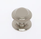 JVJ Hardware - Cabinet Knob - Polished Nickel - 46216