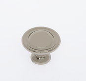 JVJ Hardware - Cabinet Knob - Polished Nickel - 46516