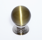 JVJ Hardware - Cabinet Knob - Polished Nickel - 54414