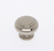 JVJ Hardware - Cabinet Knob - Polished Nickel - 66116
