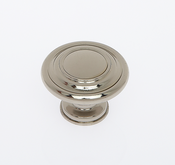 JVJ Hardware - Cabinet Knob - Polished Nickel - 66216