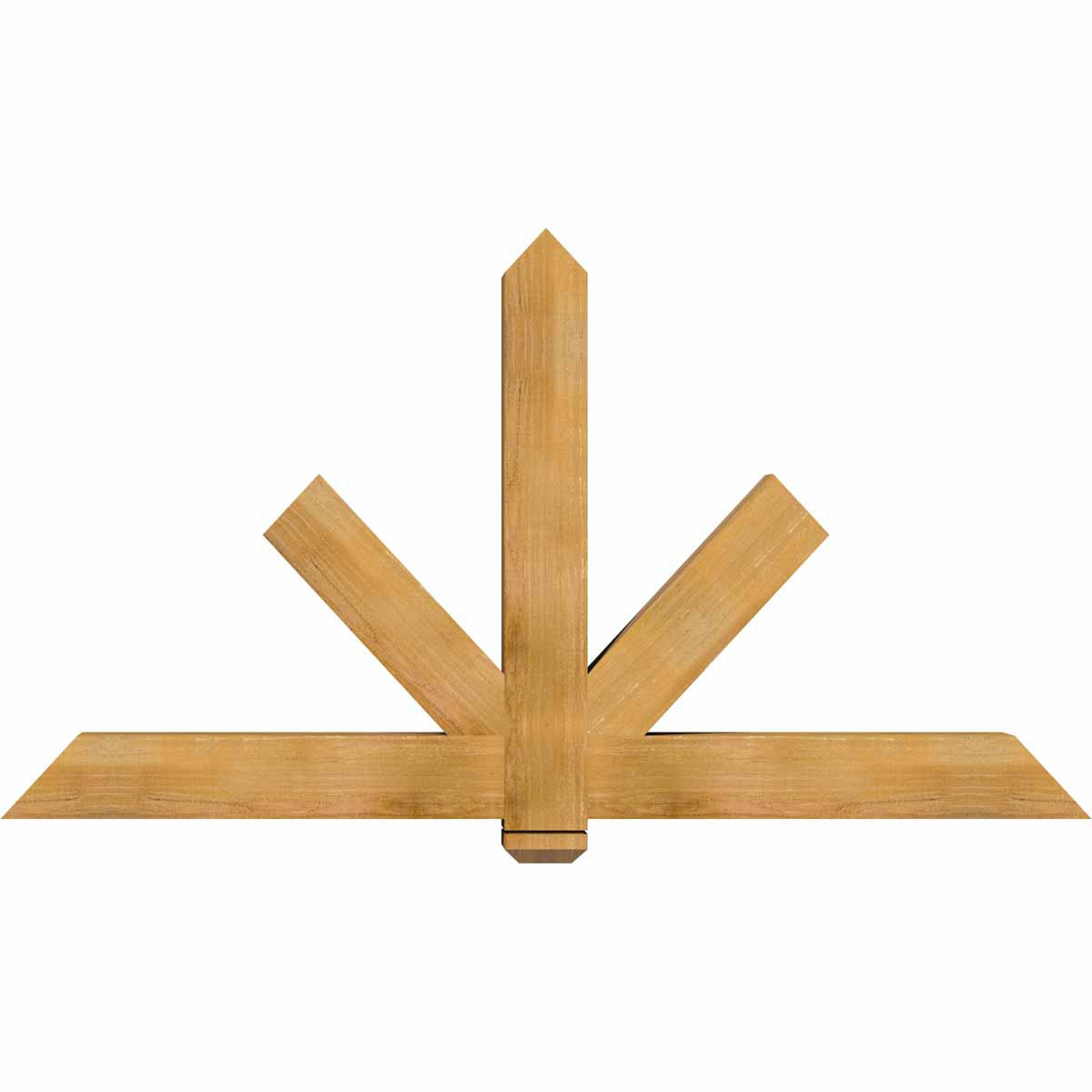 Kennewick smooth timber gable bracketwestern red cedar for Cedar gable brackets