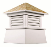 Good Directions - Kent Style - Louvered Cupola - 2118KV