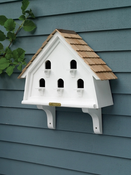 Lazy Hill Farm Flat Bird House with Shingled Roof - 41414