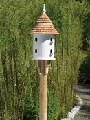 Lazy Hill Farm Bird House with Shingled Roof - 41401