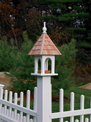 Lazy Hill Farm Loretta Bird Feeder with Shingled Roof - 41550