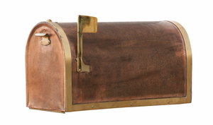 Capital Outdoor Accents - Mailbox - Copper