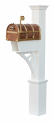 Capital Outdoor Accents - Mailbox Post - Dover Queen Anne