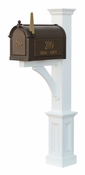 Capital Outdoor Accents - Mailbox Post - Madison