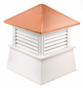 Good Directions - Manchester Style - Louvered Cupola - 2118MV