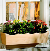 "Nantucket Window Box - 48"" Wide - NWB4"