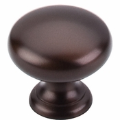 "Top Knobs - Normandy Collection - Mushroom Knob 1 1/4"" - Oil Rubbed Bronze - M753"