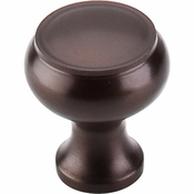 "Top Knobs - Normandy Collection - Normandy Knob 1 1/8"" - Oil Rubbed Bronze - M773"