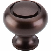 "Top Knobs - Normandy Collection - Ring Knob 1 1/4"" - Oil Rubbed Bronze - M774"