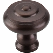"Top Knobs - Normandy Collection - Step Knob 1 1/8"" - Oil Rubbed Bronze - M769"