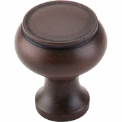 "Top Knobs - Normandy Collection - Normandy Knob 1 1/8"" - Patina Rouge - M606"