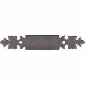 "Top Knobs - Normandy Collection - Pull Backplate 3"" (c-c) - Pewter - M697"