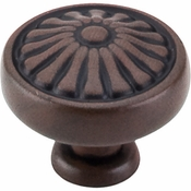 "Top Knobs - Normandy Collection - Flower Knob 1 1/4"" - Patina Rouge - M600"