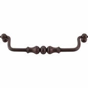 "Top Knobs - Normandy Collection - Orne Drop Pull 7"" (c-c) - Patina Rouge - M678"