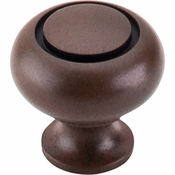 "Top Knobs - Normandy Collection - Ring Knob 1 1/4"" - Patina Rouge - M597"