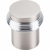 "Top Knobs - Nouveau Collection - Split Finish Knob 1"" - Brushed Satin Nickel & Polished Chrome - M342"