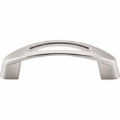 "Top Knobs - Nouveau Collection - Verona Pull 3"" (c-c) - Brushed Satin Nickel - M1769"