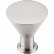 "Top Knobs - Nouveau II Collection - Cocktail Knob 1 3/16"" - Brushed Satin Nickel - M585"